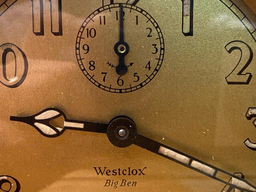 7月11日(土)マグネッツ大阪店アメリカン雑貨入荷日!! #1 AntiqueAlarmClock 1910\'~Westclox BigBen Style-1~9 &  INGRAHAM,ELGIN!_c0078587_13082477.jpg