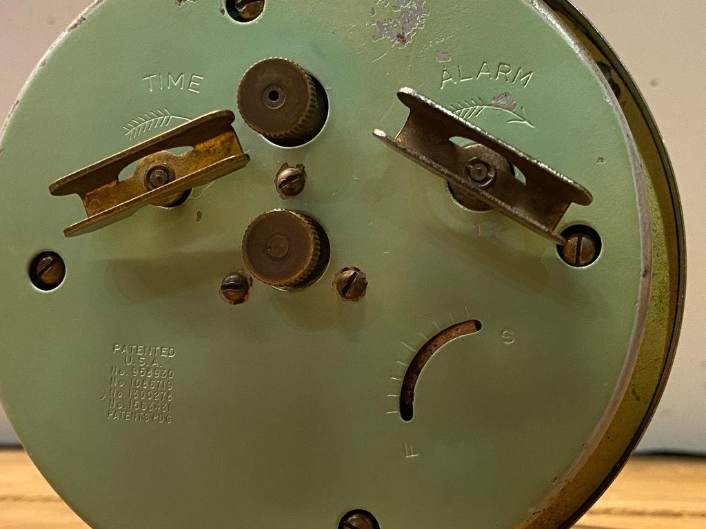 7月11日(土)マグネッツ大阪店アメリカン雑貨入荷日!! #1 AntiqueAlarmClock 1910\'~Westclox BigBen Style-1~9 &  INGRAHAM,ELGIN!_c0078587_13091892.jpg