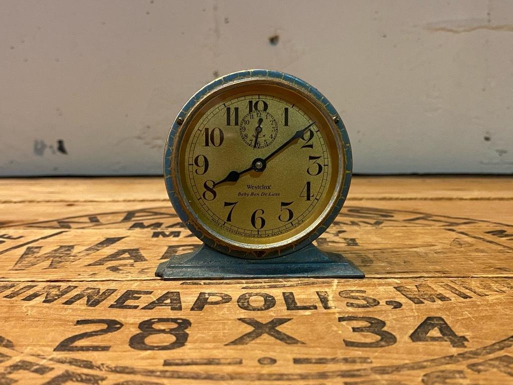 7月11日(土)マグネッツ大阪店アメリカン雑貨入荷日!! #1 AntiqueAlarmClock 1910\'~Westclox BigBen Style-1~9 &  INGRAHAM,ELGIN!_c0078587_13114427.jpg