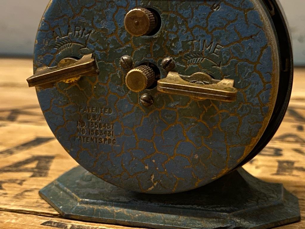 7月11日(土)マグネッツ大阪店アメリカン雑貨入荷日!! #1 AntiqueAlarmClock 1910\'~Westclox BigBen Style-1~9 &  INGRAHAM,ELGIN!_c0078587_13115223.jpg