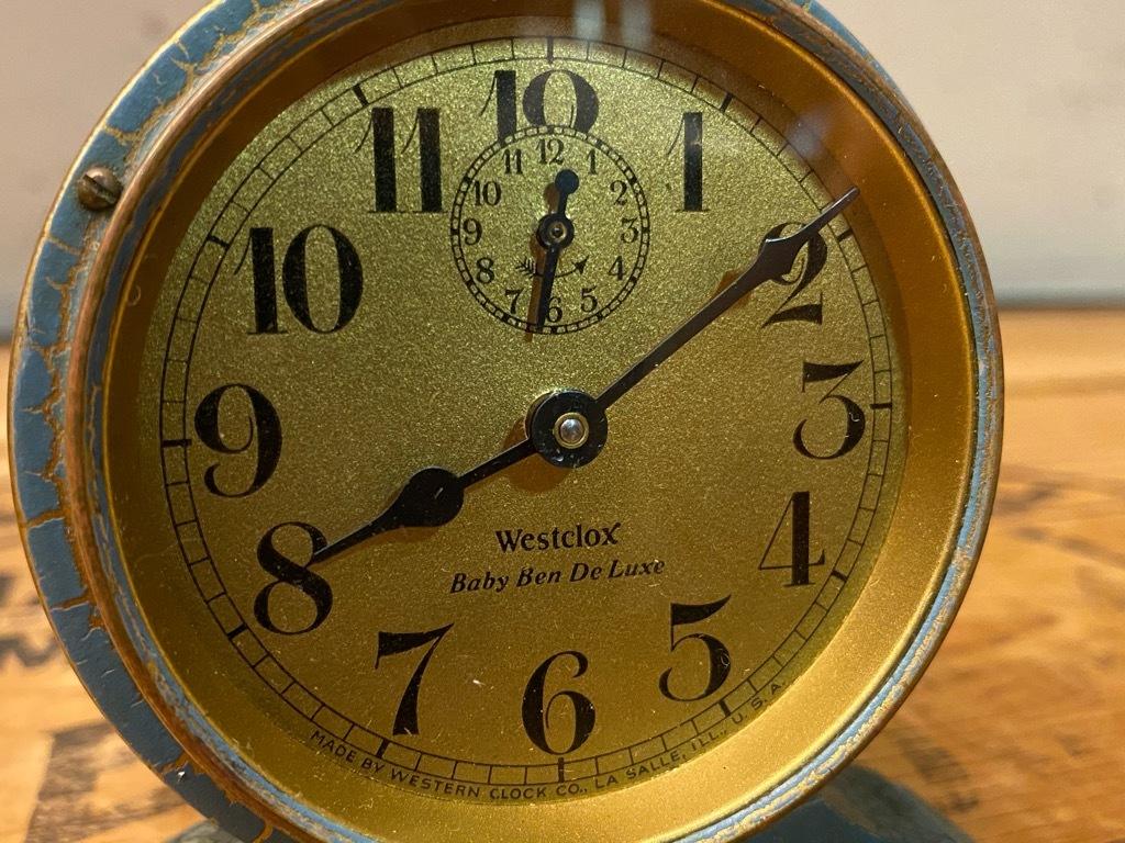 7月11日(土)マグネッツ大阪店アメリカン雑貨入荷日!! #1 AntiqueAlarmClock 1910\'~Westclox BigBen Style-1~9 &  INGRAHAM,ELGIN!_c0078587_13115334.jpg