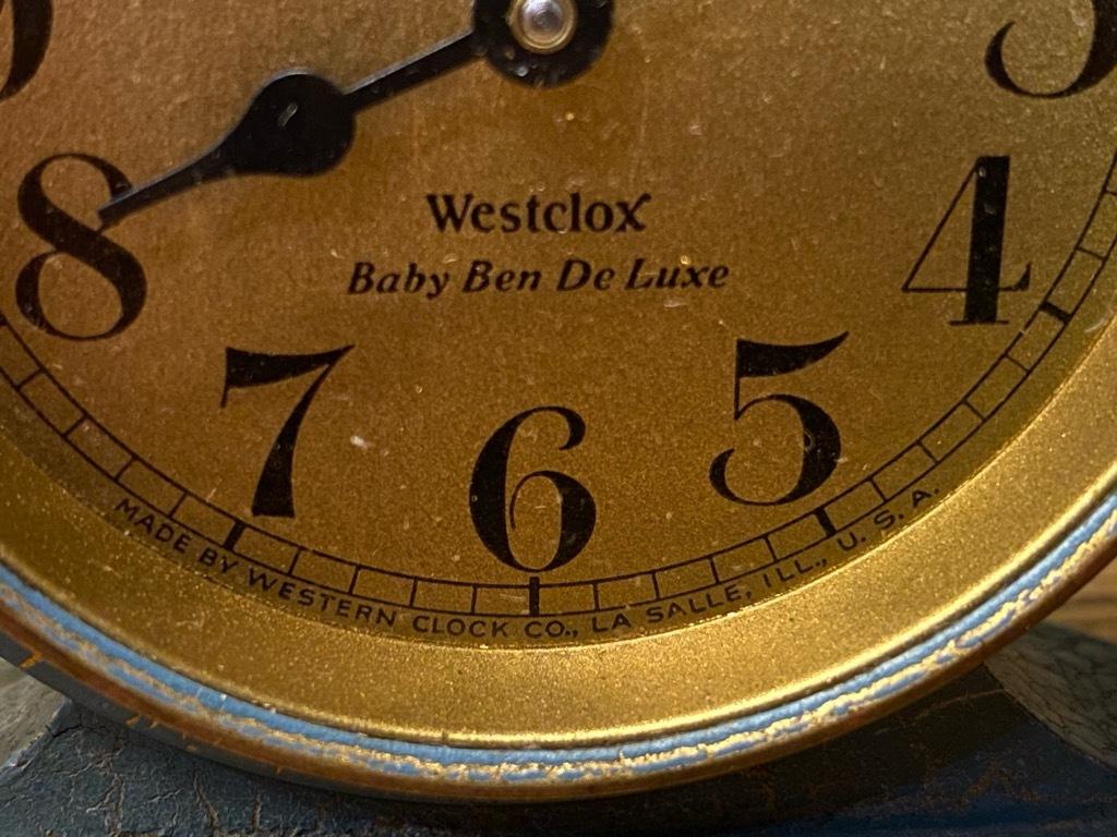 7月11日(土)マグネッツ大阪店アメリカン雑貨入荷日!! #1 AntiqueAlarmClock 1910\'~Westclox BigBen Style-1~9 &  INGRAHAM,ELGIN!_c0078587_13115380.jpg