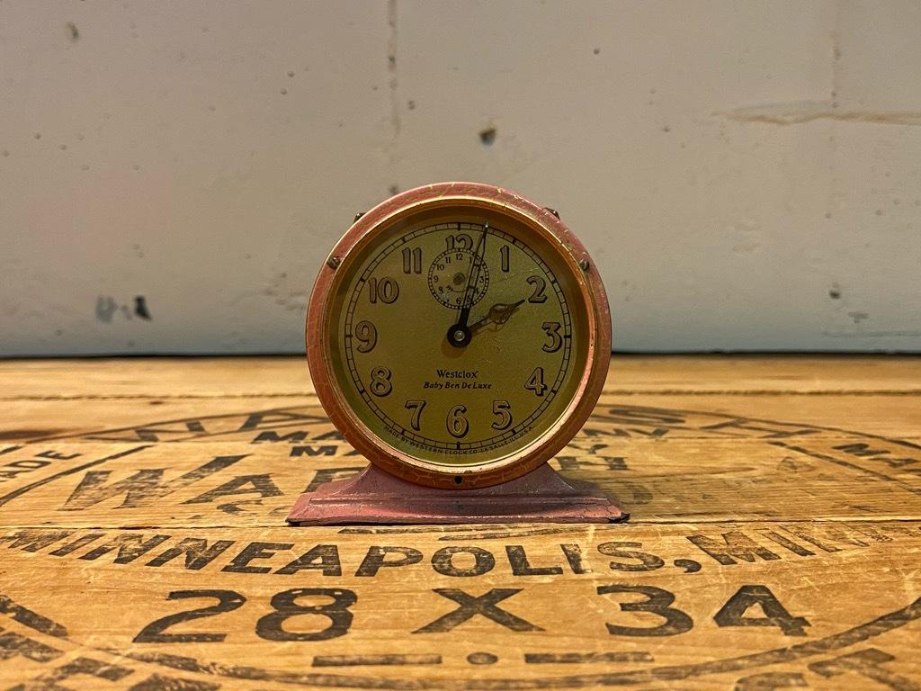 7月11日(土)マグネッツ大阪店アメリカン雑貨入荷日!! #1 AntiqueAlarmClock 1910\'~Westclox BigBen Style-1~9 &  INGRAHAM,ELGIN!_c0078587_13131085.jpg