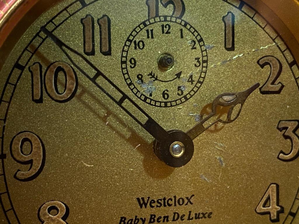 7月11日(土)マグネッツ大阪店アメリカン雑貨入荷日!! #1 AntiqueAlarmClock 1910\'~Westclox BigBen Style-1~9 &  INGRAHAM,ELGIN!_c0078587_13132219.jpg