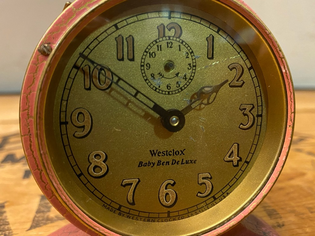 7月11日(土)マグネッツ大阪店アメリカン雑貨入荷日!! #1 AntiqueAlarmClock 1910\'~Westclox BigBen Style-1~9 &  INGRAHAM,ELGIN!_c0078587_13132266.jpg