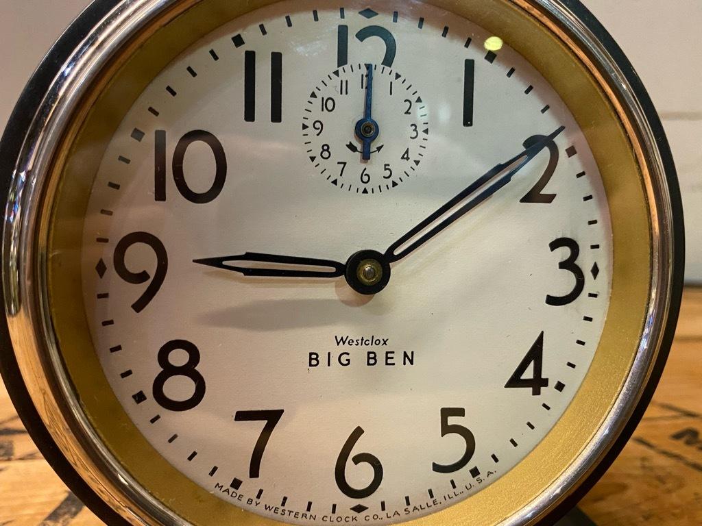 7月11日(土)マグネッツ大阪店アメリカン雑貨入荷日!! #1 AntiqueAlarmClock 1910\'~Westclox BigBen Style-1~9 &  INGRAHAM,ELGIN!_c0078587_13174217.jpg