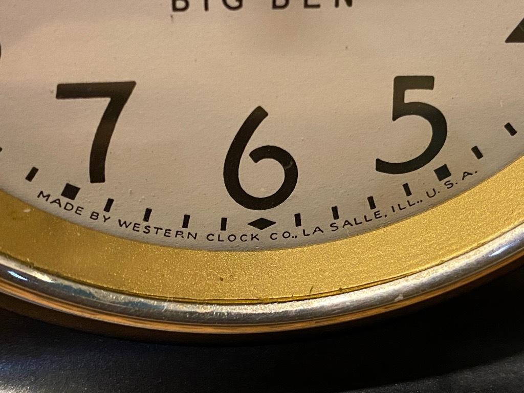 7月11日(土)マグネッツ大阪店アメリカン雑貨入荷日!! #1 AntiqueAlarmClock 1910\'~Westclox BigBen Style-1~9 &  INGRAHAM,ELGIN!_c0078587_13174275.jpg