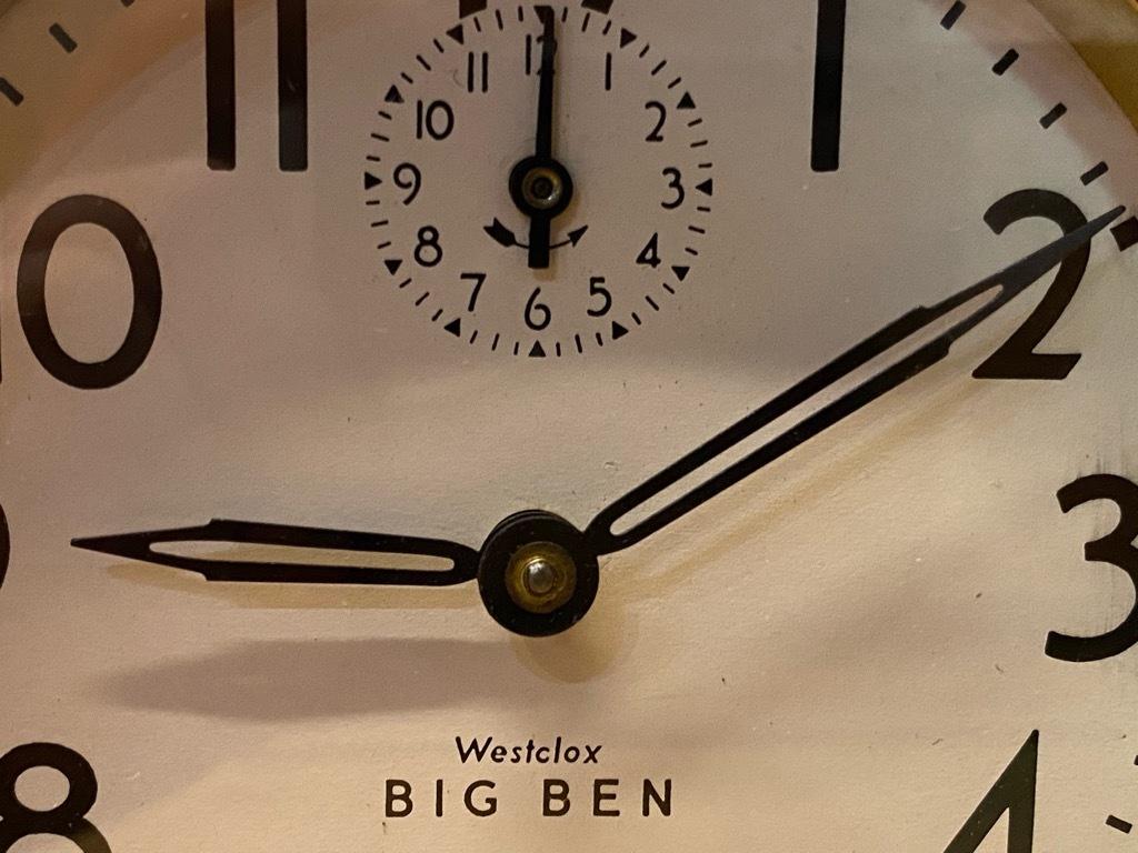 7月11日(土)マグネッツ大阪店アメリカン雑貨入荷日!! #1 AntiqueAlarmClock 1910\'~Westclox BigBen Style-1~9 &  INGRAHAM,ELGIN!_c0078587_13174733.jpg