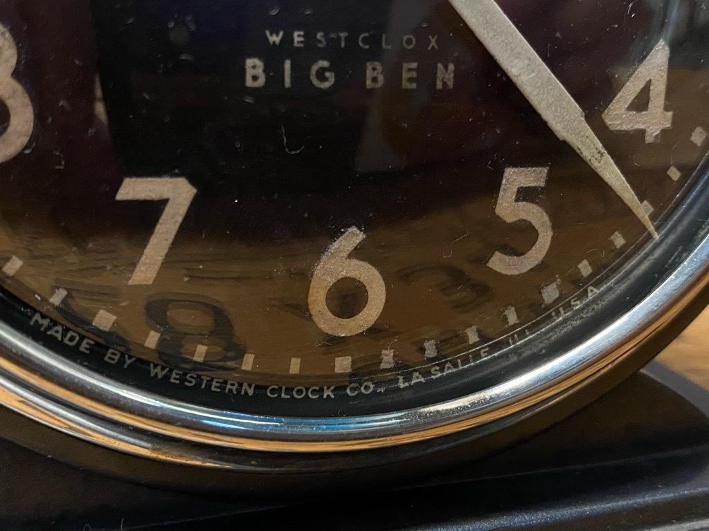 7月11日(土)マグネッツ大阪店アメリカン雑貨入荷日!! #1 AntiqueAlarmClock 1910\'~Westclox BigBen Style-1~9 &  INGRAHAM,ELGIN!_c0078587_13211231.jpg