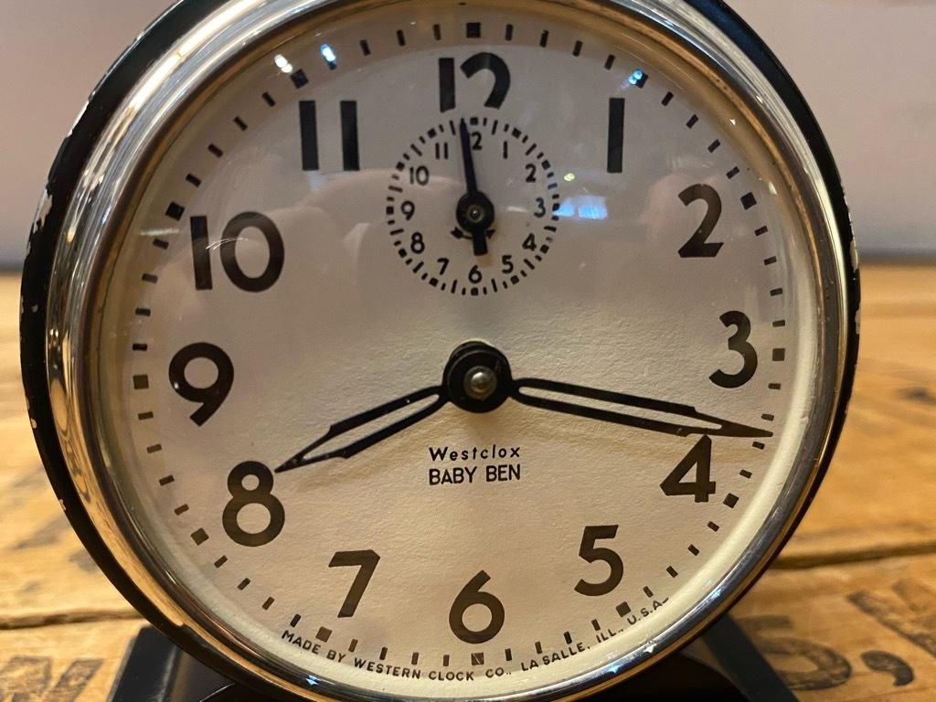 7月11日(土)マグネッツ大阪店アメリカン雑貨入荷日!! #1 AntiqueAlarmClock 1910\'~Westclox BigBen Style-1~9 &  INGRAHAM,ELGIN!_c0078587_13230261.jpg