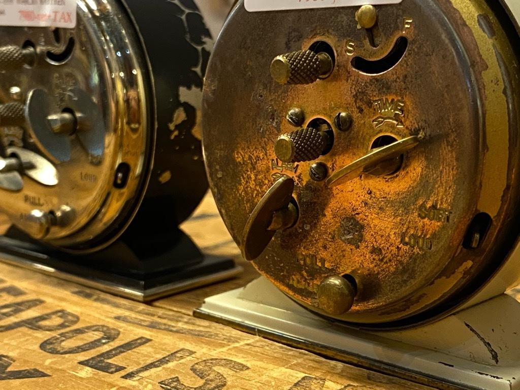 7月11日(土)マグネッツ大阪店アメリカン雑貨入荷日!! #1 AntiqueAlarmClock 1910\'~Westclox BigBen Style-1~9 &  INGRAHAM,ELGIN!_c0078587_13230273.jpg
