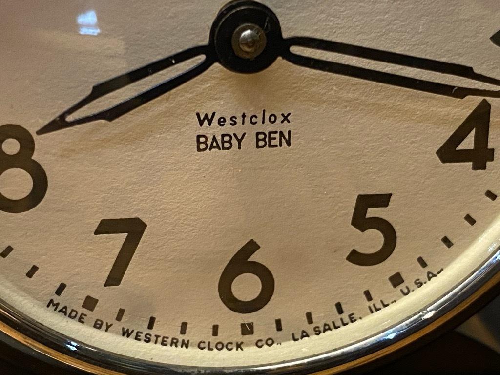 7月11日(土)マグネッツ大阪店アメリカン雑貨入荷日!! #1 AntiqueAlarmClock 1910\'~Westclox BigBen Style-1~9 &  INGRAHAM,ELGIN!_c0078587_13230709.jpg