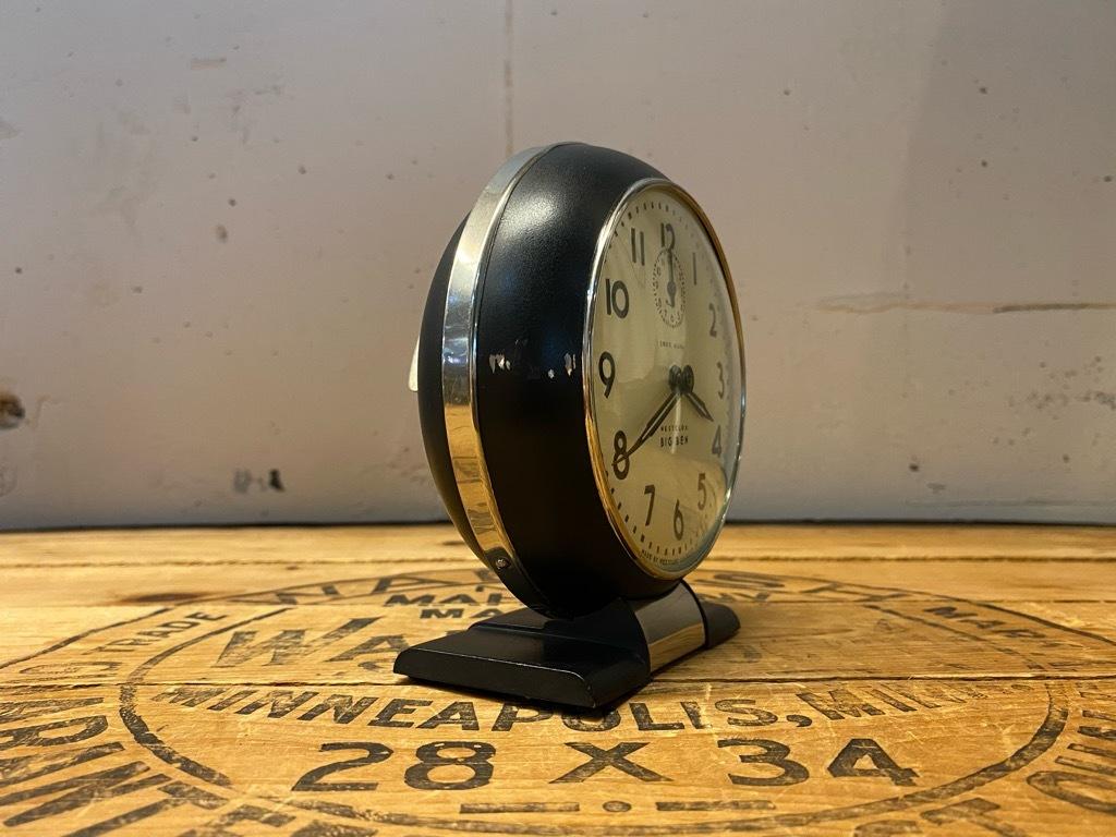 7月11日(土)マグネッツ大阪店アメリカン雑貨入荷日!! #1 AntiqueAlarmClock 1910\'~Westclox BigBen Style-1~9 &  INGRAHAM,ELGIN!_c0078587_13250560.jpg
