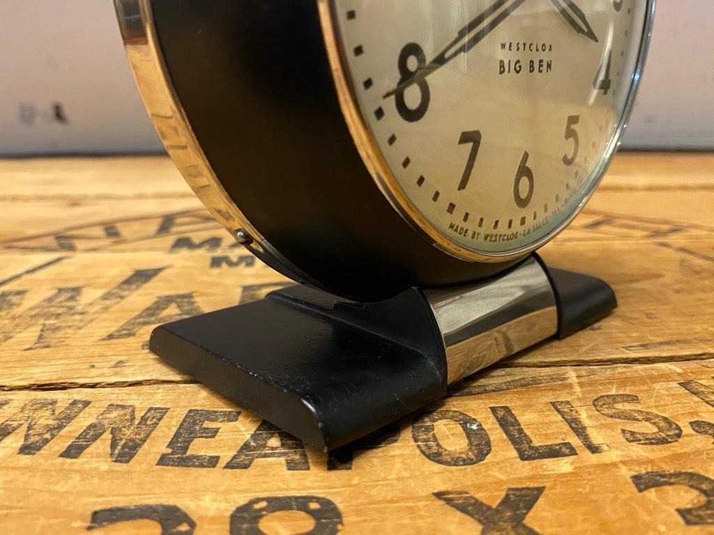 7月11日(土)マグネッツ大阪店アメリカン雑貨入荷日!! #1 AntiqueAlarmClock 1910\'~Westclox BigBen Style-1~9 &  INGRAHAM,ELGIN!_c0078587_13251019.jpg