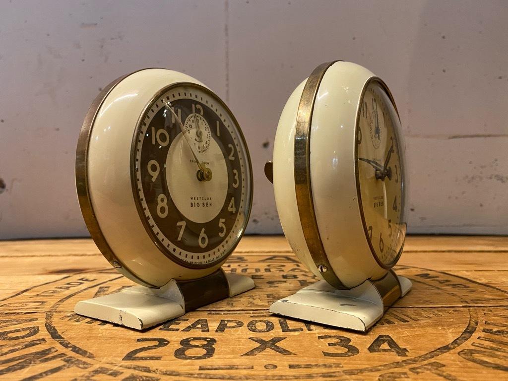 7月11日(土)マグネッツ大阪店アメリカン雑貨入荷日!! #1 AntiqueAlarmClock 1910\'~Westclox BigBen Style-1~9 &  INGRAHAM,ELGIN!_c0078587_13283234.jpg