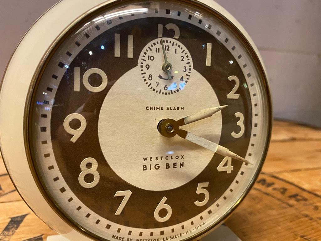 7月11日(土)マグネッツ大阪店アメリカン雑貨入荷日!! #1 AntiqueAlarmClock 1910\'~Westclox BigBen Style-1~9 &  INGRAHAM,ELGIN!_c0078587_13283266.jpg