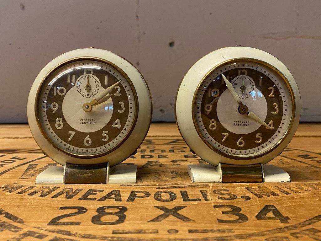 7月11日(土)マグネッツ大阪店アメリカン雑貨入荷日!! #1 AntiqueAlarmClock 1910\'~Westclox BigBen Style-1~9 &  INGRAHAM,ELGIN!_c0078587_13300020.jpg