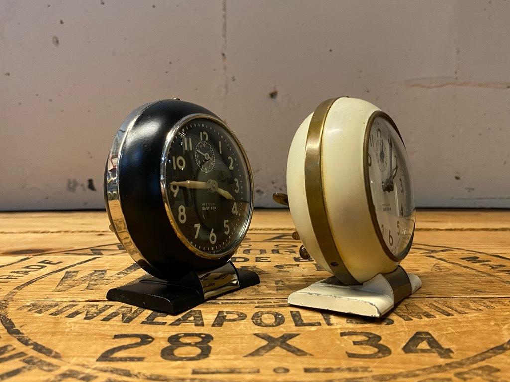 7月11日(土)マグネッツ大阪店アメリカン雑貨入荷日!! #1 AntiqueAlarmClock 1910\'~Westclox BigBen Style-1~9 &  INGRAHAM,ELGIN!_c0078587_13303505.jpg