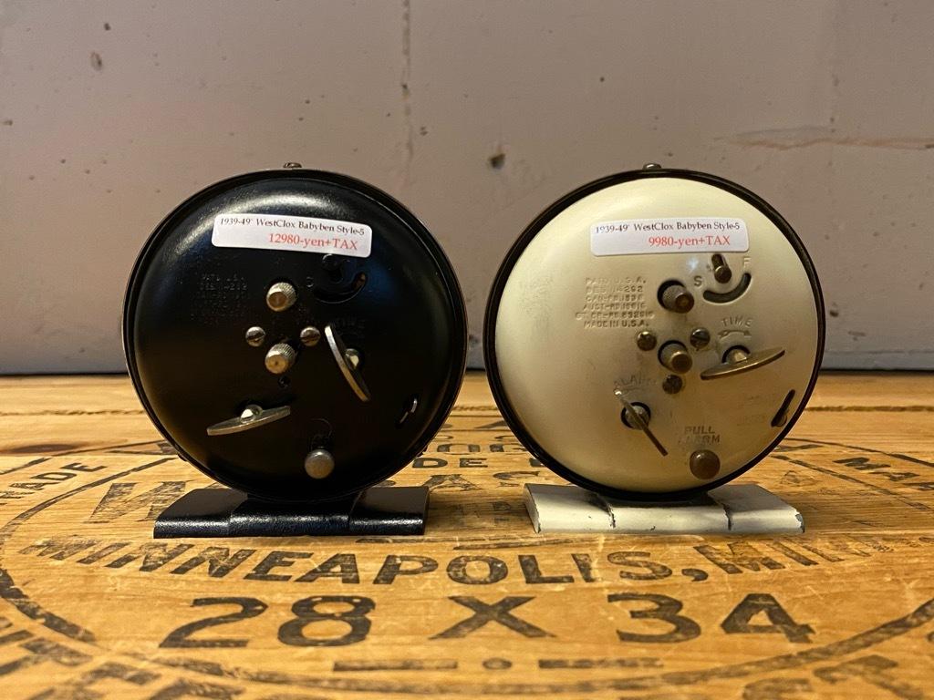 7月11日(土)マグネッツ大阪店アメリカン雑貨入荷日!! #1 AntiqueAlarmClock 1910\'~Westclox BigBen Style-1~9 &  INGRAHAM,ELGIN!_c0078587_13303506.jpg