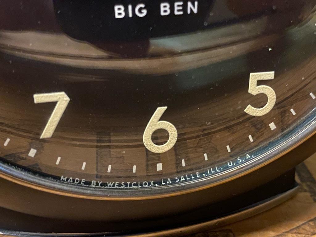 7月11日(土)マグネッツ大阪店アメリカン雑貨入荷日!! #1 AntiqueAlarmClock 1910\'~Westclox BigBen Style-1~9 &  INGRAHAM,ELGIN!_c0078587_13325801.jpg