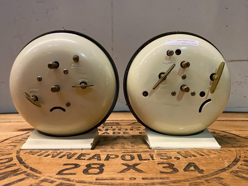 7月11日(土)マグネッツ大阪店アメリカン雑貨入荷日!! #1 AntiqueAlarmClock 1910\'~Westclox BigBen Style-1~9 &  INGRAHAM,ELGIN!_c0078587_13364096.jpg