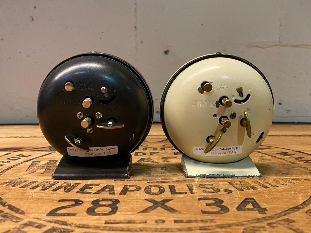 7月11日(土)マグネッツ大阪店アメリカン雑貨入荷日!! #1 AntiqueAlarmClock 1910\'~Westclox BigBen Style-1~9 &  INGRAHAM,ELGIN!_c0078587_13373437.jpg
