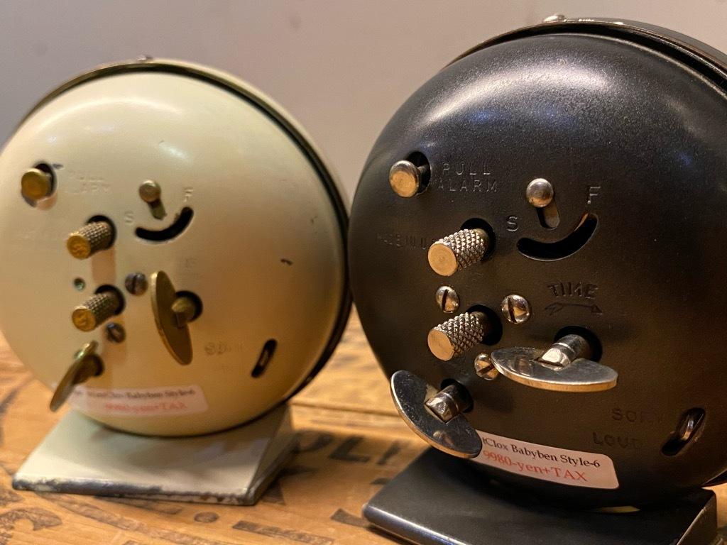 7月11日(土)マグネッツ大阪店アメリカン雑貨入荷日!! #1 AntiqueAlarmClock 1910\'~Westclox BigBen Style-1~9 &  INGRAHAM,ELGIN!_c0078587_13373881.jpg