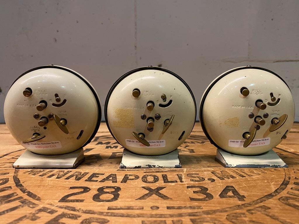 7月11日(土)マグネッツ大阪店アメリカン雑貨入荷日!! #1 AntiqueAlarmClock 1910\'~Westclox BigBen Style-1~9 &  INGRAHAM,ELGIN!_c0078587_13384200.jpg