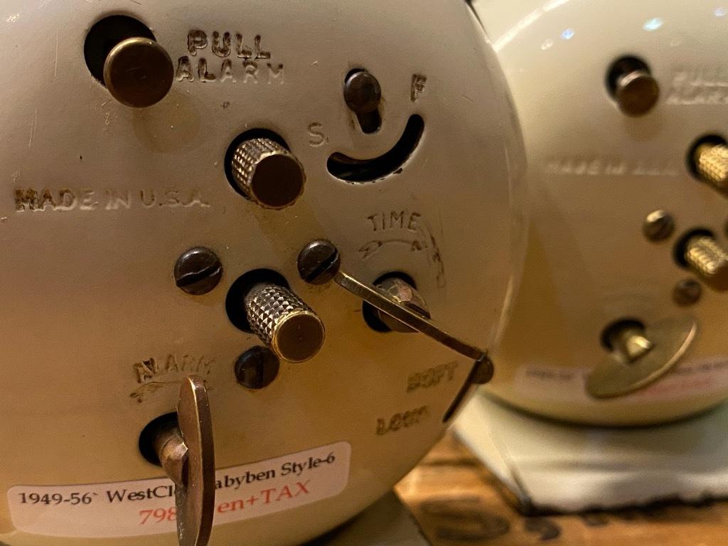 7月11日(土)マグネッツ大阪店アメリカン雑貨入荷日!! #1 AntiqueAlarmClock 1910\'~Westclox BigBen Style-1~9 &  INGRAHAM,ELGIN!_c0078587_13385141.jpg