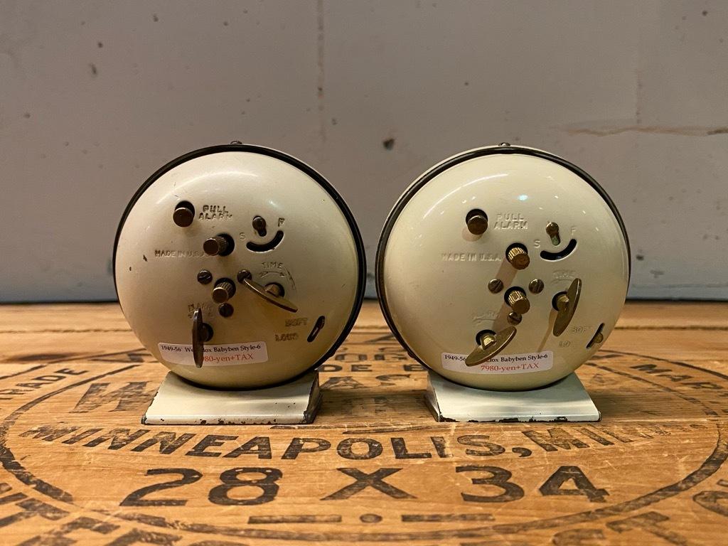 7月11日(土)マグネッツ大阪店アメリカン雑貨入荷日!! #1 AntiqueAlarmClock 1910\'~Westclox BigBen Style-1~9 &  INGRAHAM,ELGIN!_c0078587_13385194.jpg