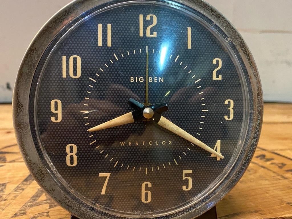 7月11日(土)マグネッツ大阪店アメリカン雑貨入荷日!! #1 AntiqueAlarmClock 1910\'~Westclox BigBen Style-1~9 &  INGRAHAM,ELGIN!_c0078587_14203687.jpg