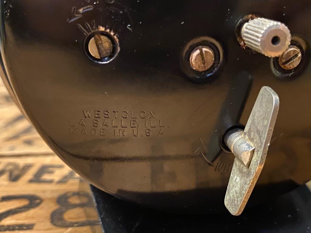 7月11日(土)マグネッツ大阪店アメリカン雑貨入荷日!! #1 AntiqueAlarmClock 1910\'~Westclox BigBen Style-1~9 &  INGRAHAM,ELGIN!_c0078587_14204585.jpg
