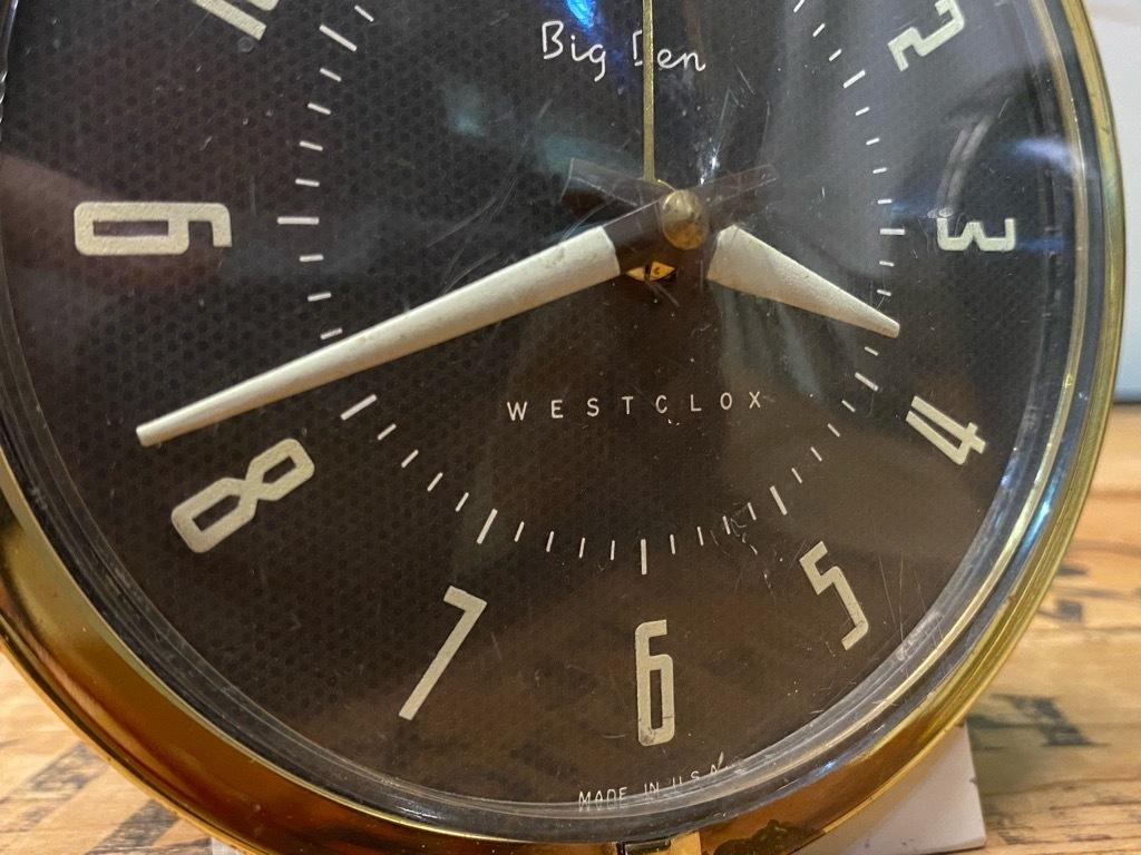 7月11日(土)マグネッツ大阪店アメリカン雑貨入荷日!! #1 AntiqueAlarmClock 1910\'~Westclox BigBen Style-1~9 &  INGRAHAM,ELGIN!_c0078587_14220014.jpg