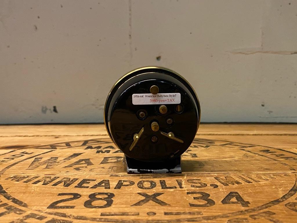 7月11日(土)マグネッツ大阪店アメリカン雑貨入荷日!! #1 AntiqueAlarmClock 1910\'~Westclox BigBen Style-1~9 &  INGRAHAM,ELGIN!_c0078587_14225511.jpg