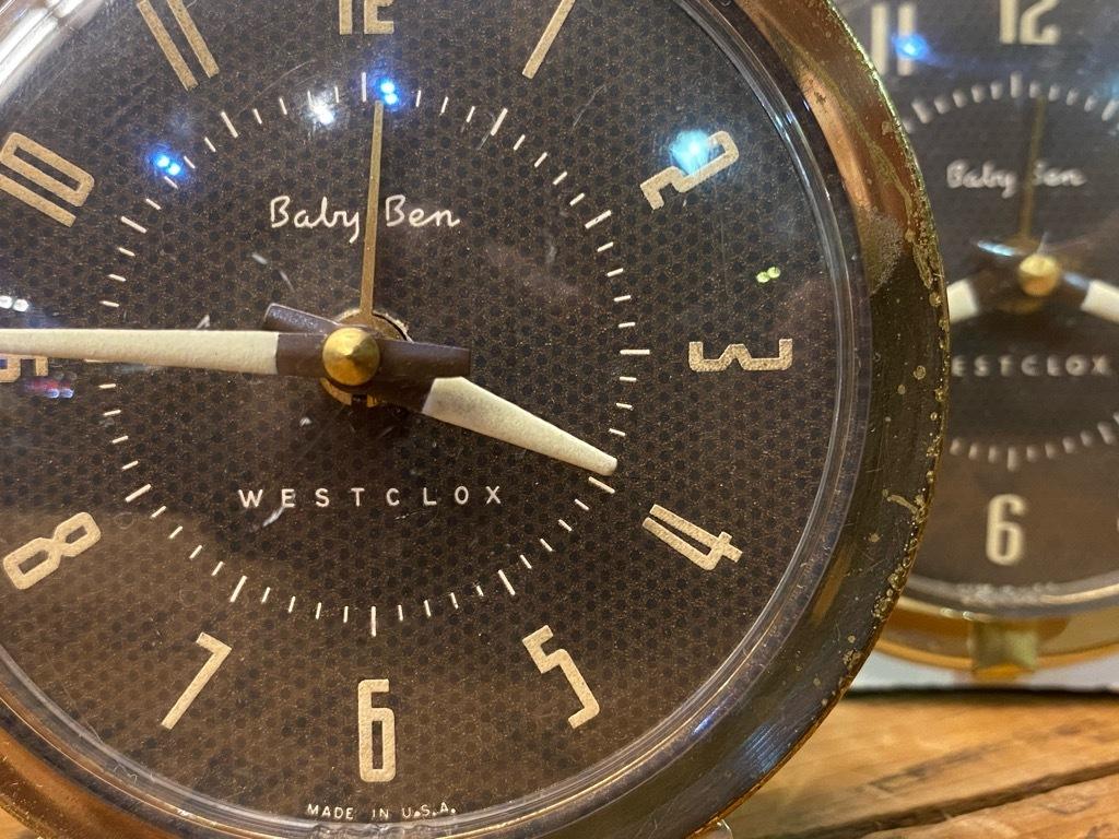 7月11日(土)マグネッツ大阪店アメリカン雑貨入荷日!! #1 AntiqueAlarmClock 1910\'~Westclox BigBen Style-1~9 &  INGRAHAM,ELGIN!_c0078587_14230939.jpg