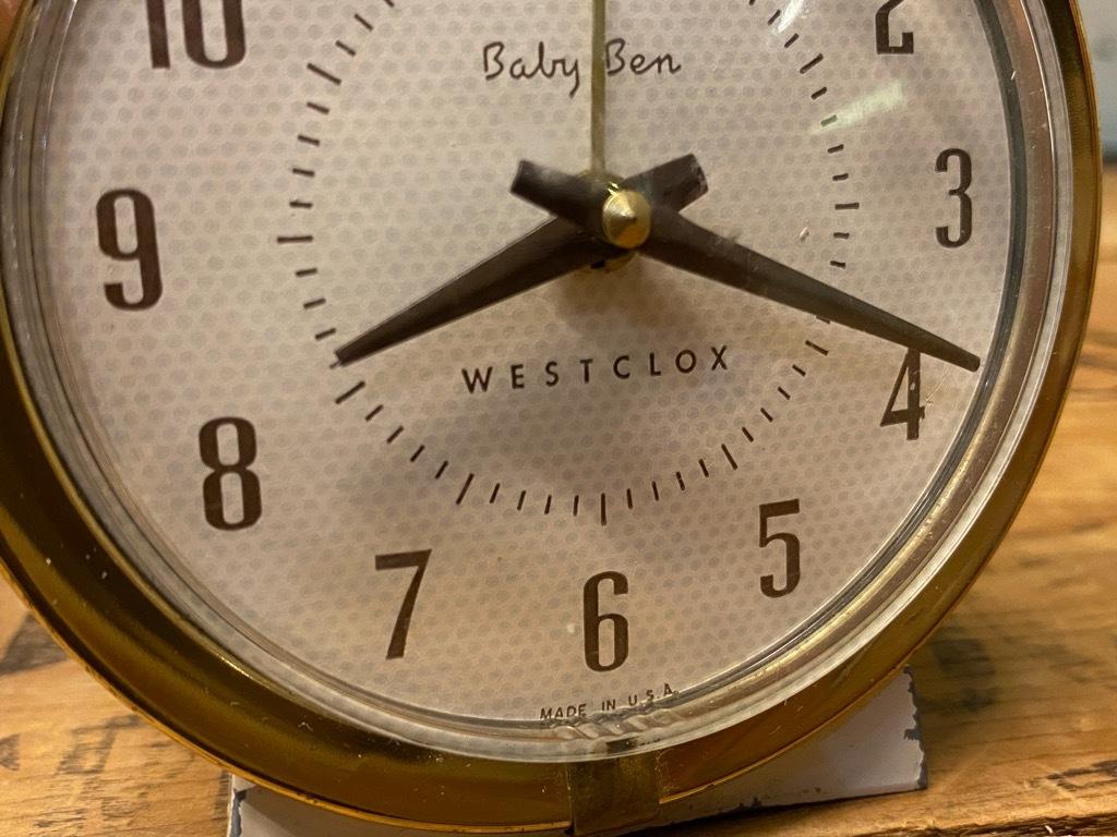 7月11日(土)マグネッツ大阪店アメリカン雑貨入荷日!! #1 AntiqueAlarmClock 1910\'~Westclox BigBen Style-1~9 &  INGRAHAM,ELGIN!_c0078587_14242219.jpg