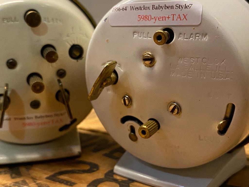 7月11日(土)マグネッツ大阪店アメリカン雑貨入荷日!! #1 AntiqueAlarmClock 1910\'~Westclox BigBen Style-1~9 &  INGRAHAM,ELGIN!_c0078587_14242281.jpg