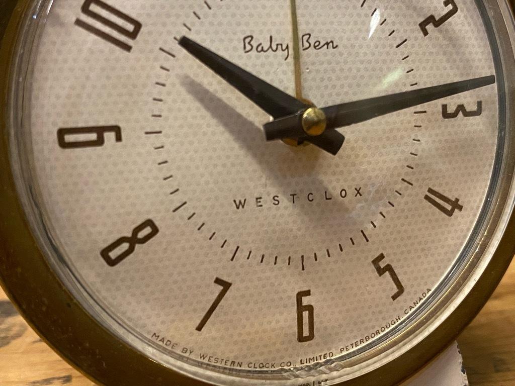 7月11日(土)マグネッツ大阪店アメリカン雑貨入荷日!! #1 AntiqueAlarmClock 1910\'~Westclox BigBen Style-1~9 &  INGRAHAM,ELGIN!_c0078587_14242287.jpg