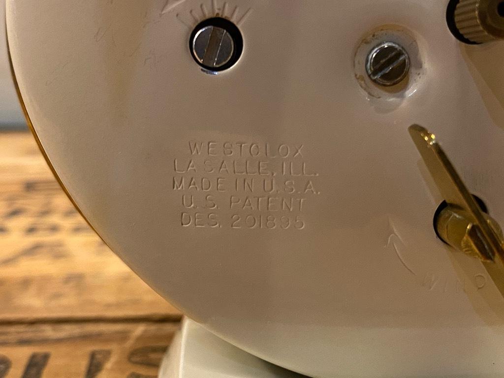 7月11日(土)マグネッツ大阪店アメリカン雑貨入荷日!! #1 AntiqueAlarmClock 1910\'~Westclox BigBen Style-1~9 &  INGRAHAM,ELGIN!_c0078587_14410842.jpg