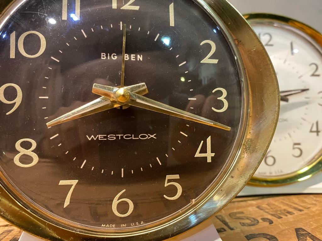 7月11日(土)マグネッツ大阪店アメリカン雑貨入荷日!! #1 AntiqueAlarmClock 1910\'~Westclox BigBen Style-1~9 &  INGRAHAM,ELGIN!_c0078587_14410864.jpg
