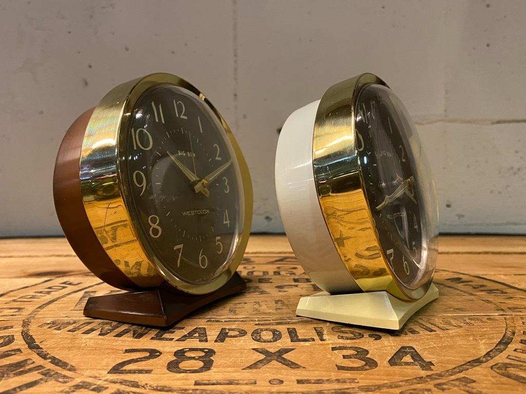 7月11日(土)マグネッツ大阪店アメリカン雑貨入荷日!! #1 AntiqueAlarmClock 1910\'~Westclox BigBen Style-1~9 &  INGRAHAM,ELGIN!_c0078587_14425050.jpg