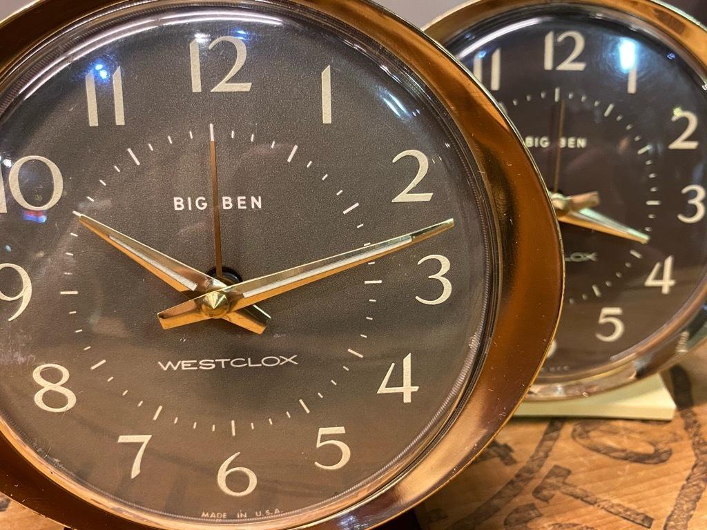 7月11日(土)マグネッツ大阪店アメリカン雑貨入荷日!! #1 AntiqueAlarmClock 1910\'~Westclox BigBen Style-1~9 &  INGRAHAM,ELGIN!_c0078587_14425588.jpg