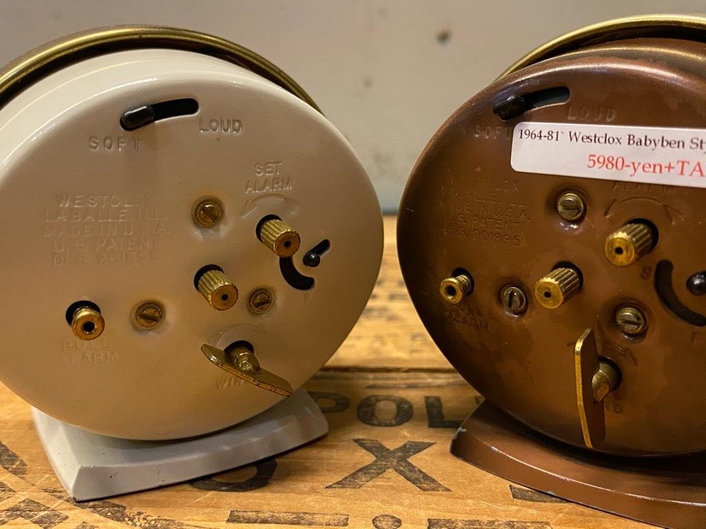 7月11日(土)マグネッツ大阪店アメリカン雑貨入荷日!! #1 AntiqueAlarmClock 1910\'~Westclox BigBen Style-1~9 &  INGRAHAM,ELGIN!_c0078587_14434072.jpg