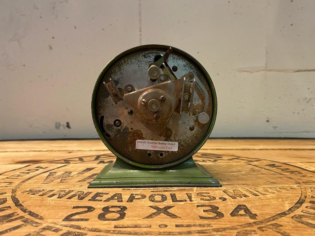 7月11日(土)マグネッツ大阪店アメリカン雑貨入荷日!! #1 AntiqueAlarmClock 1910\'~Westclox BigBen Style-1~9 &  INGRAHAM,ELGIN!_c0078587_14461028.jpg
