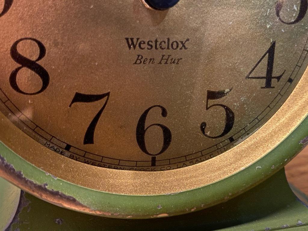7月11日(土)マグネッツ大阪店アメリカン雑貨入荷日!! #1 AntiqueAlarmClock 1910\'~Westclox BigBen Style-1~9 &  INGRAHAM,ELGIN!_c0078587_14461466.jpg