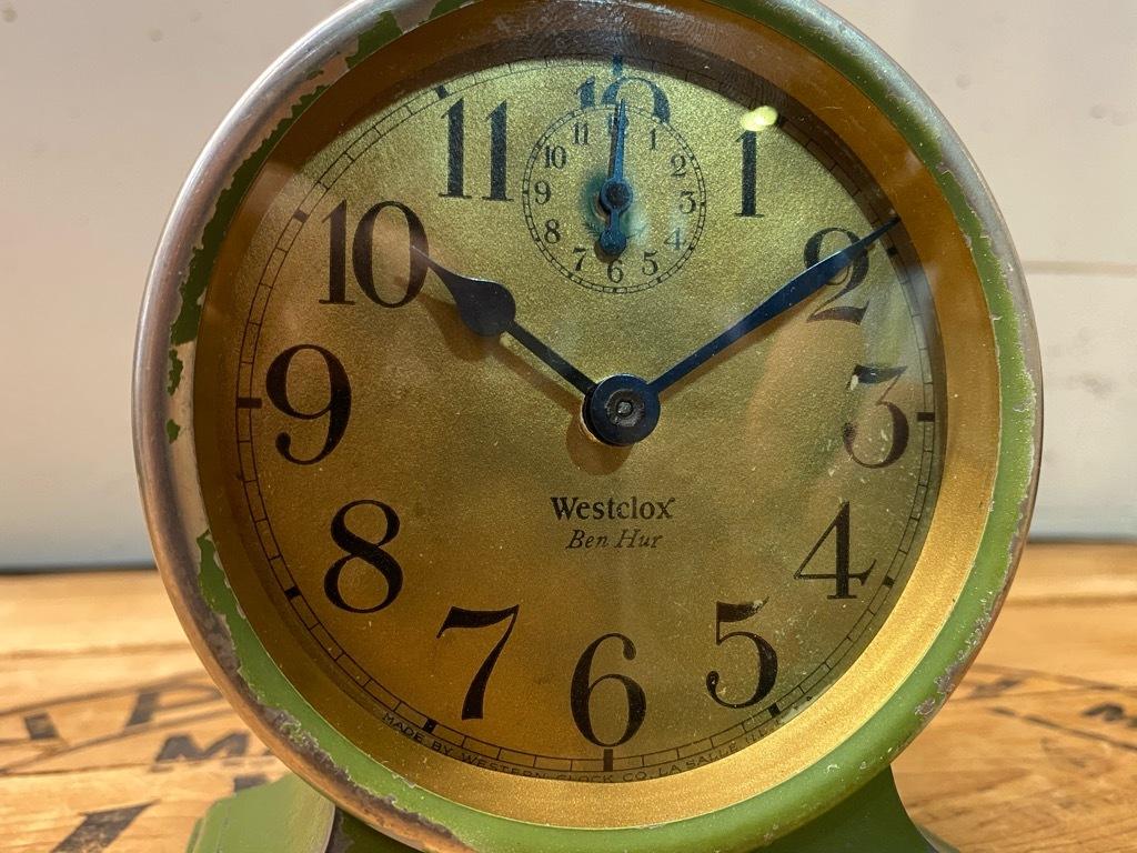 7月11日(土)マグネッツ大阪店アメリカン雑貨入荷日!! #1 AntiqueAlarmClock 1910\'~Westclox BigBen Style-1~9 &  INGRAHAM,ELGIN!_c0078587_14461472.jpg