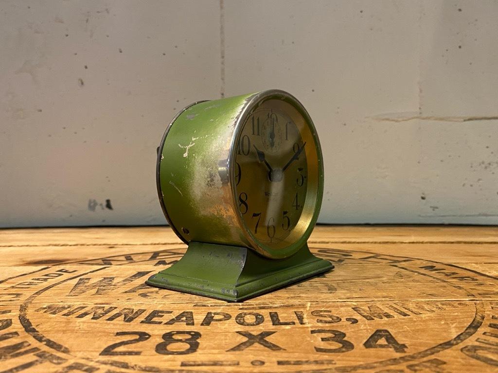 7月11日(土)マグネッツ大阪店アメリカン雑貨入荷日!! #1 AntiqueAlarmClock 1910\'~Westclox BigBen Style-1~9 &  INGRAHAM,ELGIN!_c0078587_14461491.jpg