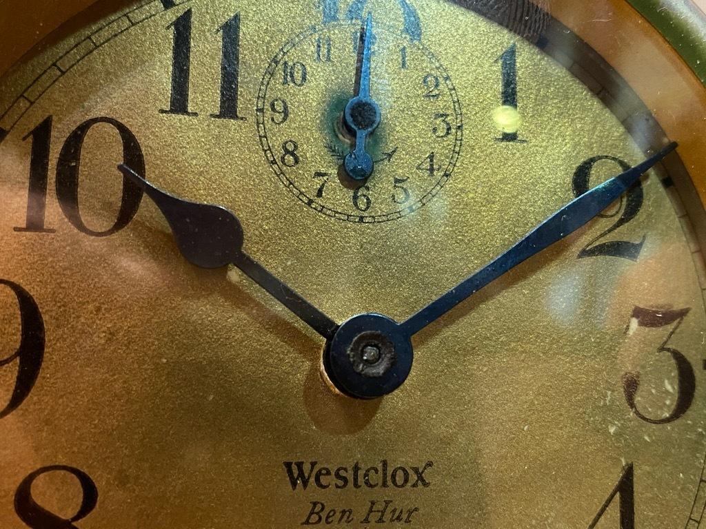 7月11日(土)マグネッツ大阪店アメリカン雑貨入荷日!! #1 AntiqueAlarmClock 1910\'~Westclox BigBen Style-1~9 &  INGRAHAM,ELGIN!_c0078587_14461816.jpg