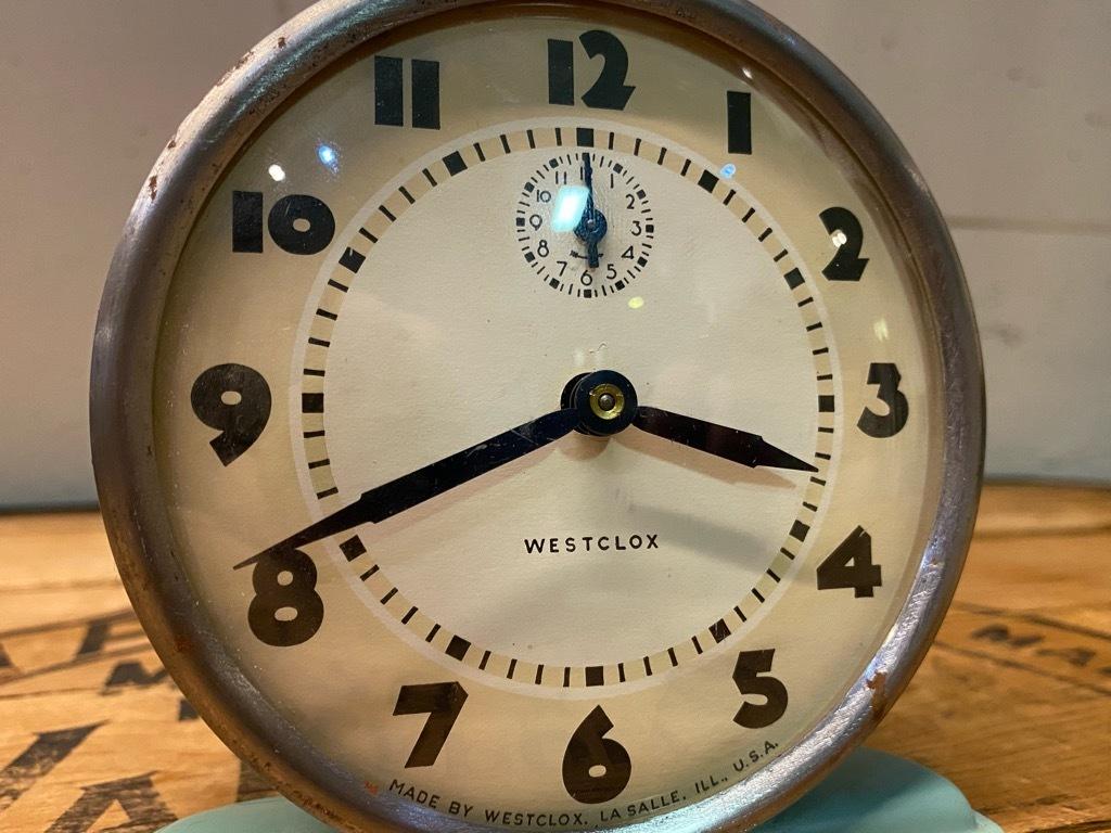 7月11日(土)マグネッツ大阪店アメリカン雑貨入荷日!! #1 AntiqueAlarmClock 1910\'~Westclox BigBen Style-1~9 &  INGRAHAM,ELGIN!_c0078587_14475771.jpg