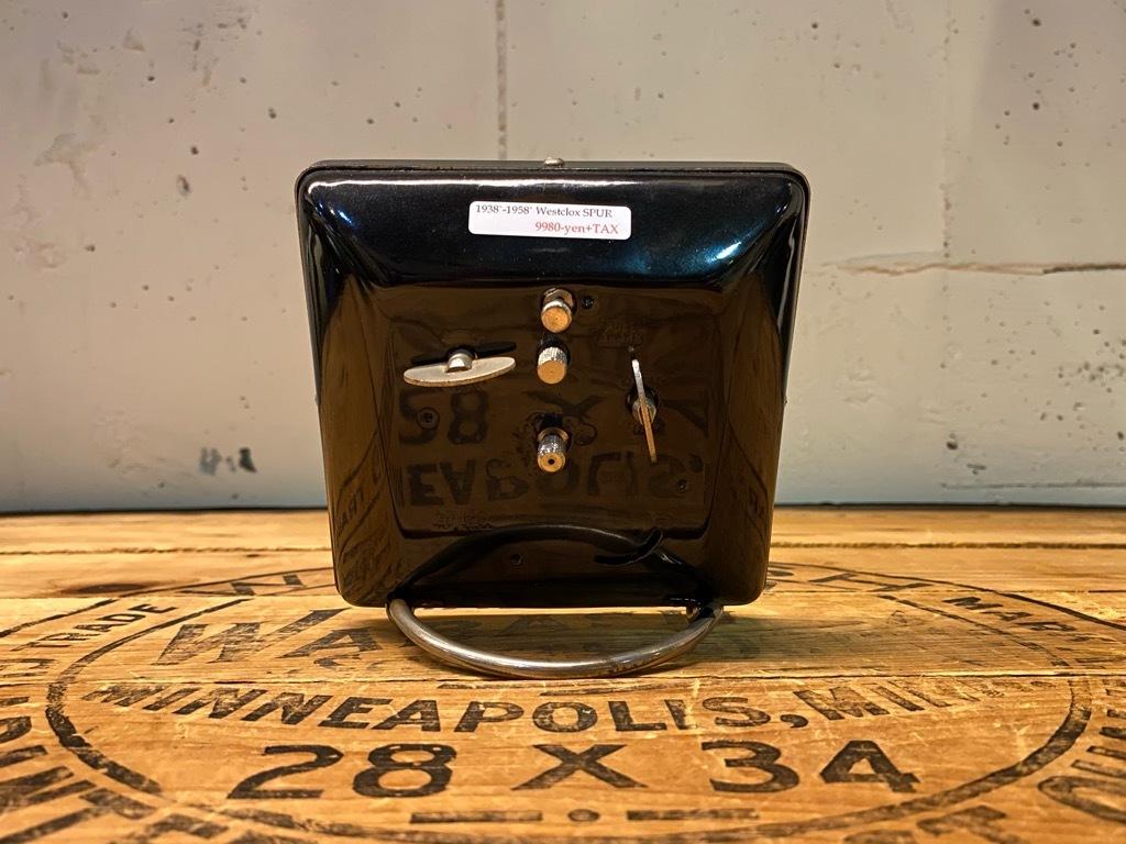7月11日(土)マグネッツ大阪店アメリカン雑貨入荷日!! #1 AntiqueAlarmClock 1910\'~Westclox BigBen Style-1~9 &  INGRAHAM,ELGIN!_c0078587_14490450.jpg